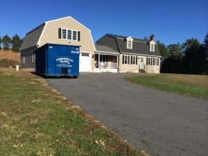 residential dumpster rental in Newbury