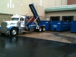 roll off container rental in Tewksbury